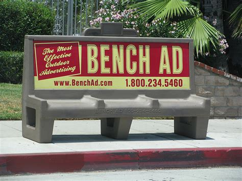 bus bench ads bench ad flickr photo sharing