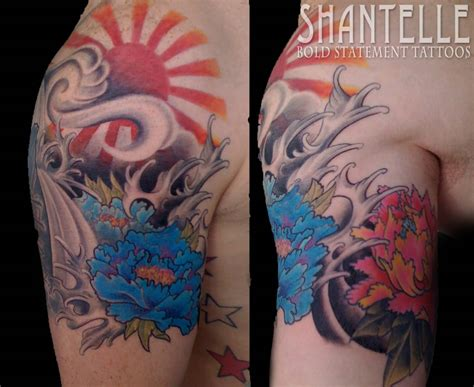 rising sun tattoo designs 42 rising sun tattoos ideas and meanings