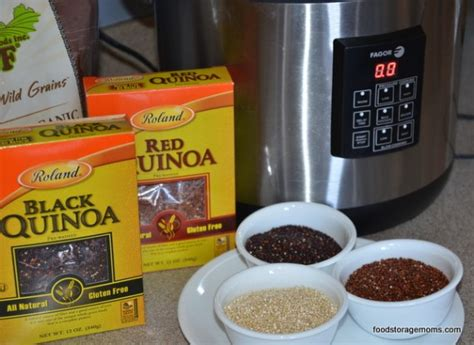 Quinoa Shelf by How To Pressure Cook Quinoa