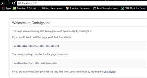 tutorial php framework tutorial instalasi php framework codeigniter inwepo