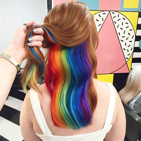 Hair Spa My Secret 5 rainbow hair is the new trend in