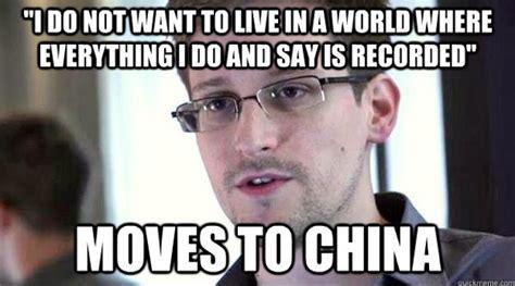 Snowden Meme - edward snowden the internet s latest sensation