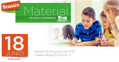 material escuela dominical mayo 2011 reuni 243 n sobre el nuevo material para la escuela dominical