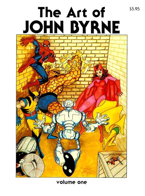 art of john byrne pencil ink