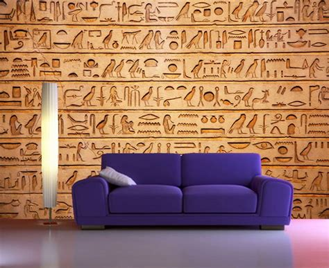 best peel and stick wallpaper self adhesive egyptian hieroglyphics egypt decorating