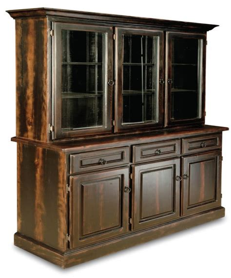 black china cabinet hutch buffet china cabinet black wash buffet bottom farmhouse china cabinets and hutches by clipper