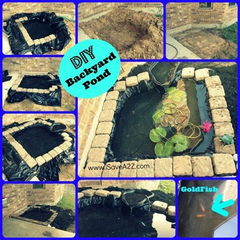 how to make a pond in your backyard my daughter and i finished a diy easy backyard pond in