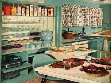 1950s home decor retro vintage 1950 kitchen decor 1950s kitchen ideas