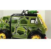 Turtles 2014 Movie Turtle Assault Van Vehicle Toy Review YouTube