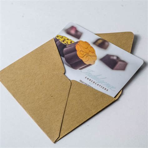 Retailer Gift Cards - in store gift card indulgence chocolatiers