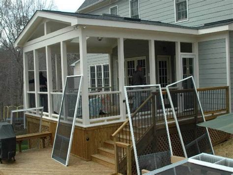 screened in porch designs for houses screened in back porch designs screened porch and garage