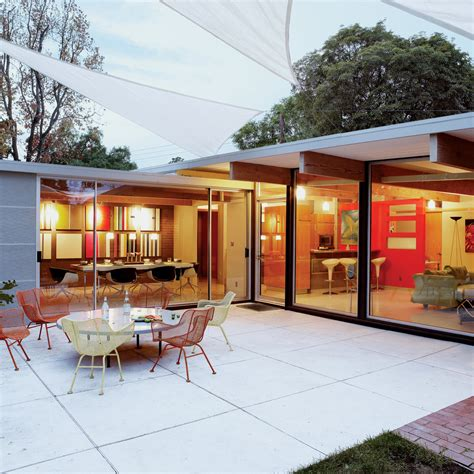elements of eichler style sunset