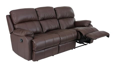 3 Seat Leather Recliner by 3 Seat Power Recliner Cat 35 Leather Recliner