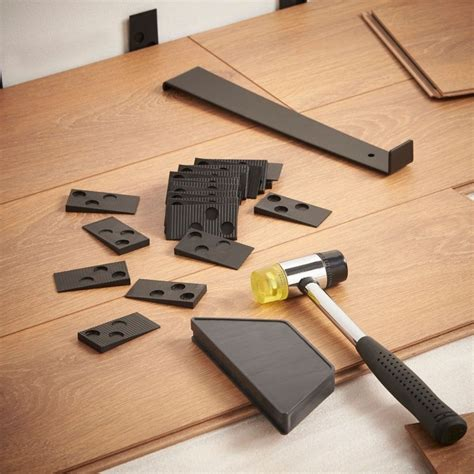 laminate wood flooring installation kit hammer pull bar tapping block tools ebay