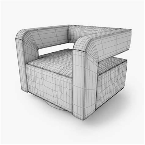 nico swivel chair nico swivel chair 3d model max obj fbx cgtrader