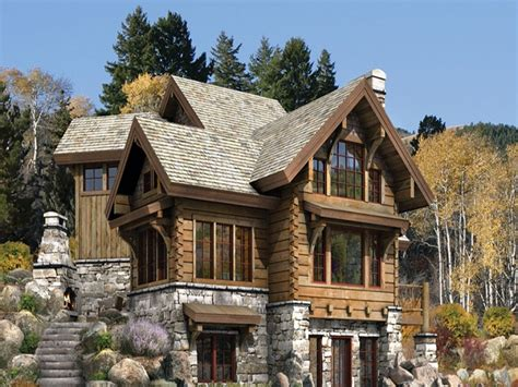 log and stone house plans stone and log cabins luxury log and stone home plans