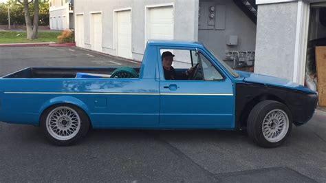 volkswagen truck slammed slammed 1980 vw rabbit truck drive