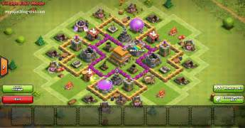 Membuat war trophy base th level 6 silahkan coba desain trophy base