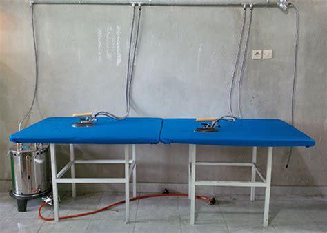 Setrika Konveksi mesin sertika uap boiler untuk konveksi garmen id mesin
