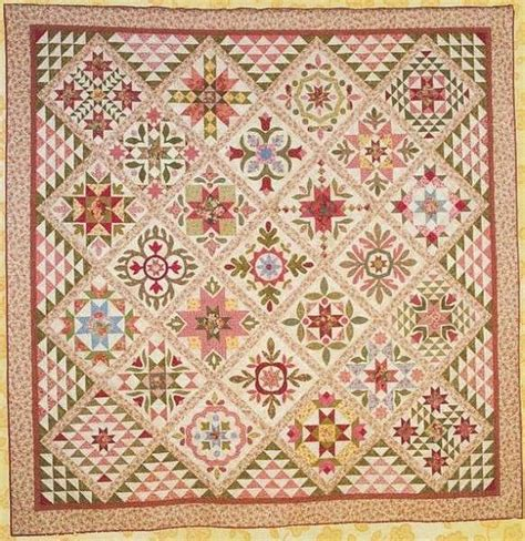 art quilt pattern primitive folk art quilt pattern appliqued and pieced
