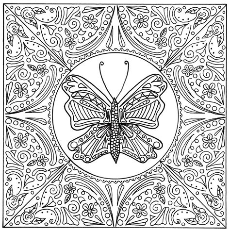 coloring books for grown ups butterflies mandala coloring book butterfly lace mandala coloring page favecrafts