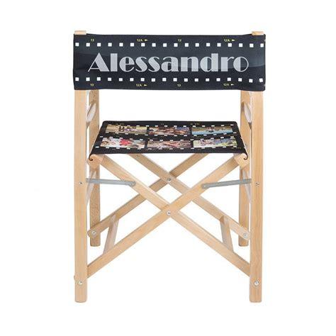 sedie foto sedia da regista personalizzata sedia pieghevole con nome