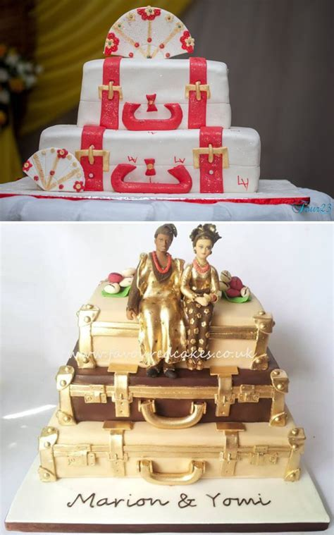 Top 25 Yoruba Traditional Wedding Cakes   Nigerian