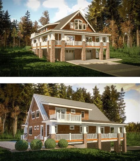 how to build a wrap around porch plan 18283be magnificent wrap around porch house plans