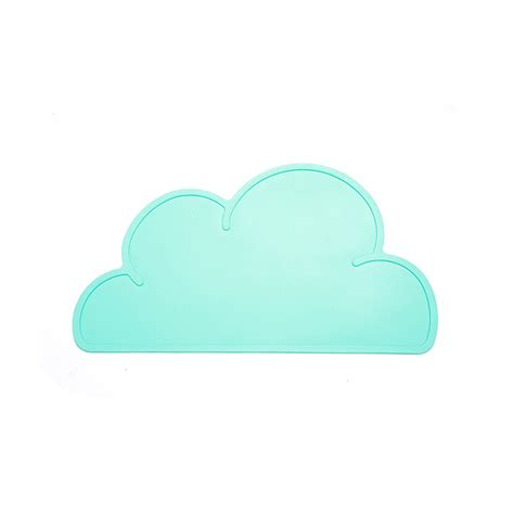 Cloud Mat by Cloud Shaped Place Mat Kiyolo