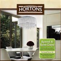 hortons home lighting at your service ad