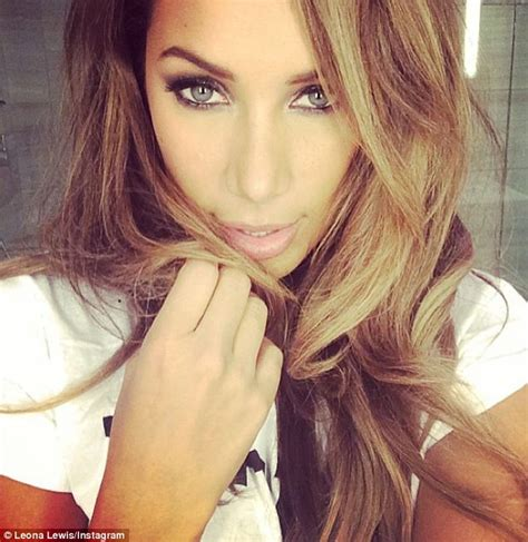 hair coloring while leona lewis posts sultry selfies while clearing out