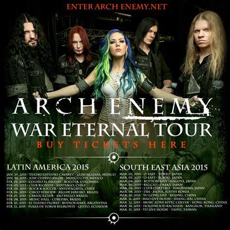 metallica asia tour 2019 agenda concerts metal arch enemy live 2015 14 03
