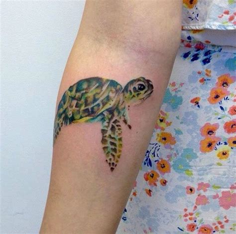 watercolor tattoos turtle 25 best ideas about sea turtle tattoos on