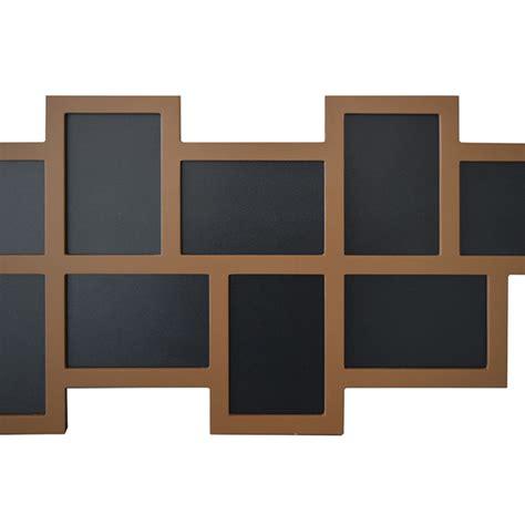 cornici portafoto design portafoto multiplo mosaico cornice 14 foto da parete legno