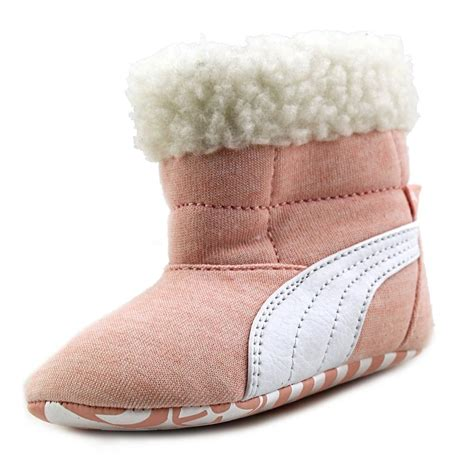 pink winter boots baby boots fur infant us 4 pink winter boot 2172 ebay