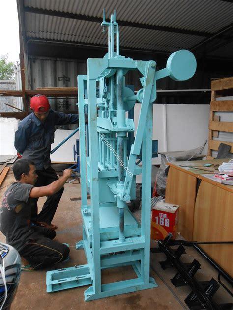 Jual Cetakan Batako Bekas jual mesin batako press mesin paving block harga murah