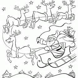 santa claus sleigh coloring pages coloring pages santa claus coloring pages free and printable