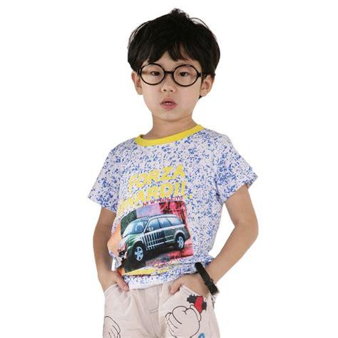 Mini Car Design Boy T Shir Baby Boy Summer Clothing Boys Laundry