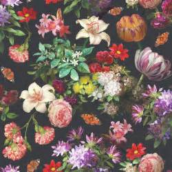 floral wallpaper for walls best 25 black floral wallpaper ideas on pinterest eclectic nursery decor baby room and chic