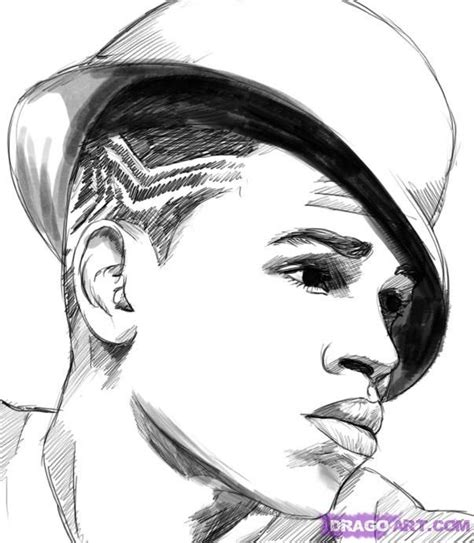 How To Draw Chris Brown