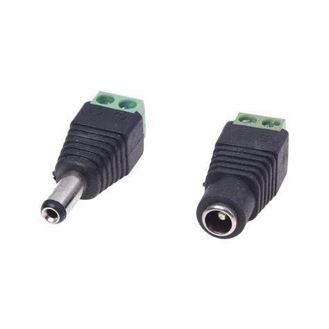 Adaptor Fu 10 paare ueberwachungskamera maennlicher weiblicher stecker klinke adapter fu de ebay
