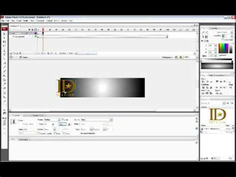 tutorial web banner flash tutorial banner com flash cs3 youtube
