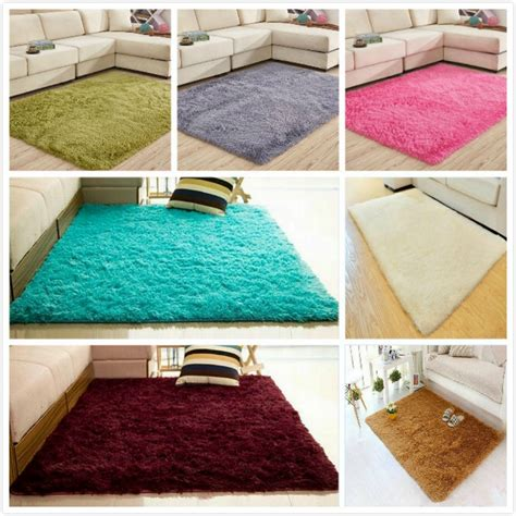 shaggy rugs for bedroom fluffy rugs anti skid area rug shaggy carpet home bedroom