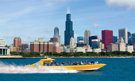 chicago boat tour with dog boat tour or thrill ride seadog cruises groupon
