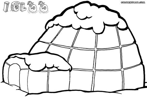 Coloring Page Igloo by Igloo Coloring Pages Coloring Pages To And Print