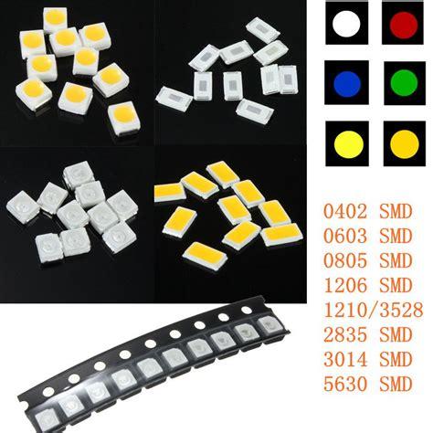 10pcs Smd Led 0805 Yellow Bright Nyala Warna Kuning 10x smt smd led striscia 0402 0603 0805 1206 1210 lada 3528 3014 2835 5630 ebay