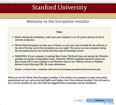 encryption policy template stanford whole disk encryption for mac it