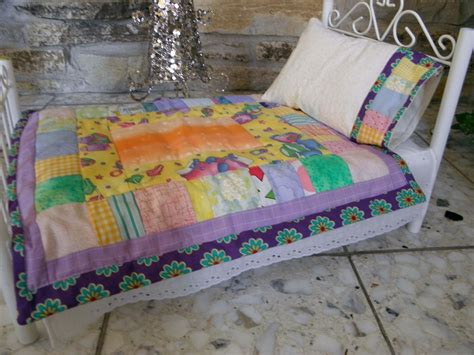 Handmade Bed Quilts - handmade 18 quot american doll bed quilt quilts