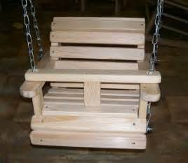 details about baby child children s bench porch swing cypress outdoor furniture swings wood