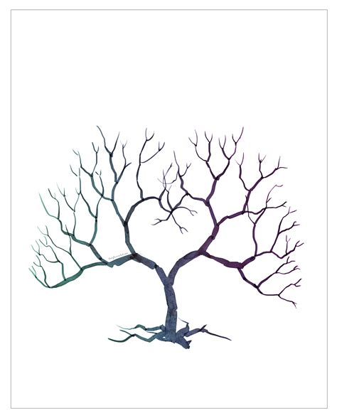 friendship tree template 193 rbol de huellas imprimible mi boda diy